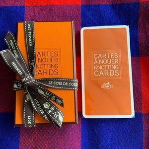 Hermès Knotting Cards Cartes À Nouer Scarves *NEW*